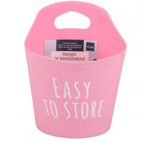 Multi Purpose Hanging Storage Basket Pink