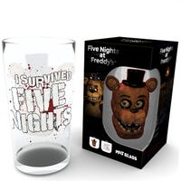 Five Nights At Freddy's Pint Glass