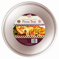 * Pizza Tray Steel Traditional 30cm