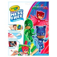 Crayola PJ Masks Colour Wonder Mess Free Colouring