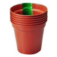 Plant Pots 10 cm 6 Pack