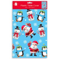 Santa and Friends Table Cover