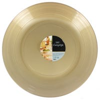 Round Food Platter in Gold 2 Pack