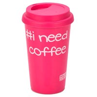 Polar Gear BTC Hot Drink Travel Cup in Pink 400ml
