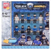 Police Play Figures 10 Pack