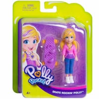 Polly Pocket Activity Doll Skate Rockin