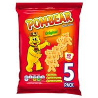 Pom-Bear Original Potato Snacks 5 Pack
