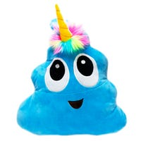 Plush Poonicorn Blue 16 Inch