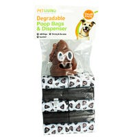 Degradable Poop Bags and Dispenser 400 Pack