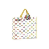 Poopsie Large Reusable Shopper Bag Multi Coloured Shapes Design