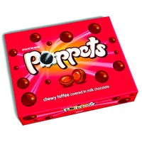 Poppets Milk Chocolate Chewy Toffee 154g