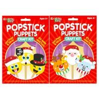 Popstick Puppets Craft Kit Assorted
