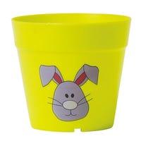 Kids Plastic Plants Pots 3 Pack