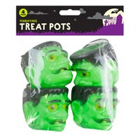 Treat Pots Frankenstein 4 Pack