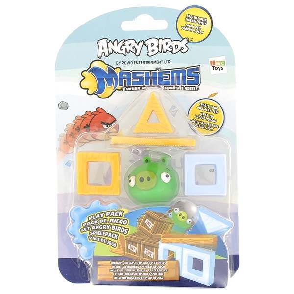 1 Angry Birds mashems Play Set Pack