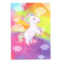 A5 Notebook Unicorn Rainbow