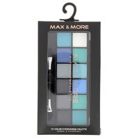 Max And More Eyeshadow Palette Blue/Green