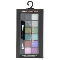Max And More Eyeshadow Palette Mixed