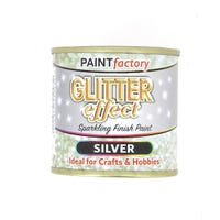 Silver Glitter Paint 125ml