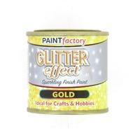 Gold Glitter Paint 125ml