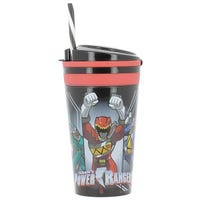 Power Rangers Zak Snack Food And Drink Tumbler