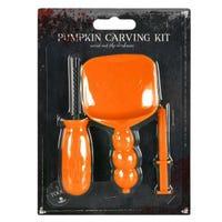 Pumpkin Carving Kit Orange