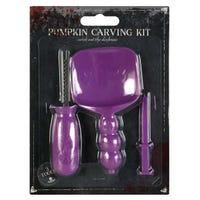 Pumpkin Carving Kit Purple