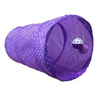 Good Girl Cat Tunnel Purple 51cm