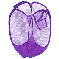 Pop Up Laundry Hamper Purple