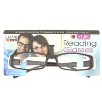 Calani Black Reading Glasses + 1.00