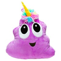 Plush Poonicorn Purple 16 Inch