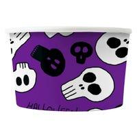 Halloween Treat Tubs Purple 8 Pack