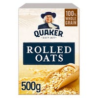 Quaker Traditional Porridge Rolled Oats 500g