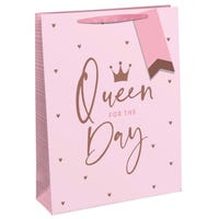Queen For The Day Gift Bag in Medium