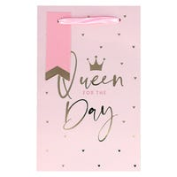 Queen For The Day Gift Bag in Extra Small