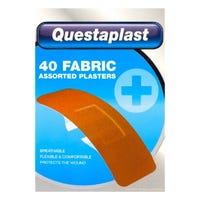 Questaplast Assorted Fabric Plasters 40 Pack