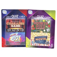 Games Hub Quiz Cards 2 Pack Assorted
