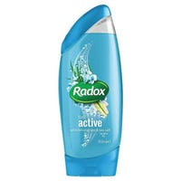 Radox Feel Active Shower Gel Lemongrass & Sea Salt 250ml