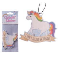 Unicorn Air Freshener I Don't Believe in Humans