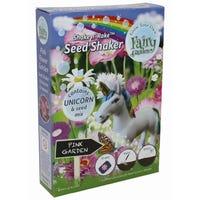 Fairy Garden Unicorn Shakers Pink Garden