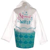 Enchanted Seas Mermaid Raincoat Large