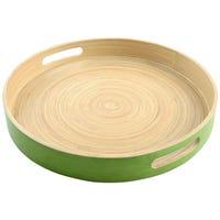 Randwyck Round Bamboo Tray
