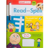 Smart Start Read And Spell Wipe Clean With Pen