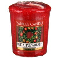 Yankee Votive Red Apple Wreath