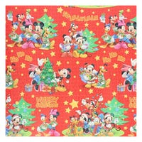 Gift Wrap Disney Mickey Red with Stars 6m