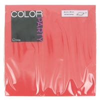 Paper Napkins Red 30 Pack