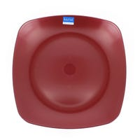 Koziol Plaza Large Square Plate Red