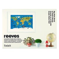 Reeves Colouring Poster and Pencils in Big Wide World