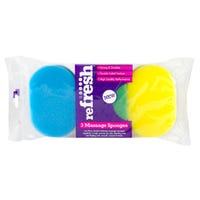 Refresh Bath Sponges 3 Pack