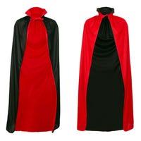 Halloween Adult Costume Reversible Vampire Cape
